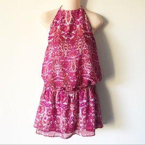 Show Me Your Mumu Hammock Halter Scrunch Dress